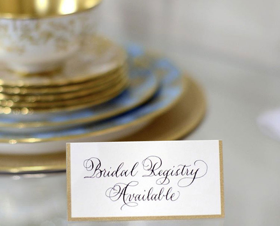 Wedding Registry in Knoxville, TN and Nashville, TN.